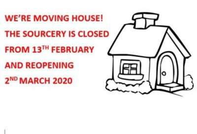 We are moving house